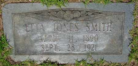 JONES SMITH, ETTA - Miller County, Arkansas | ETTA JONES SMITH - Arkansas Gravestone Photos