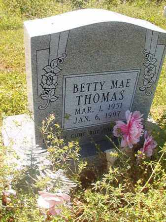 THOMAS, BETTY MAE - Miller County, Arkansas | BETTY MAE THOMAS - Arkansas Gravestone Photos