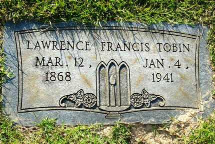 TOBIN, LAWRENCE FRANCIS - Miller County, Arkansas | LAWRENCE FRANCIS TOBIN - Arkansas Gravestone Photos