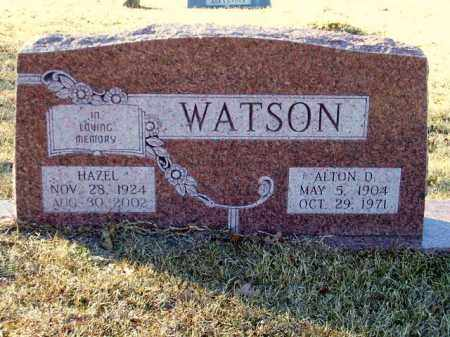 WATSON, ALTON DAVIS - Miller County, Arkansas | ALTON DAVIS WATSON - Arkansas Gravestone Photos