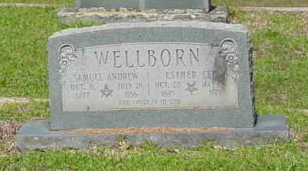 WELLBORN, SAMUEL ANDREW - Miller County, Arkansas | SAMUEL ANDREW WELLBORN - Arkansas Gravestone Photos