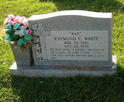 "WHITE, RAYMOND C. ""RAY"" - Miller County, Arkansas | RAYMOND C. ""RAY"" WHITE - Arkansas Gravestone Photos"