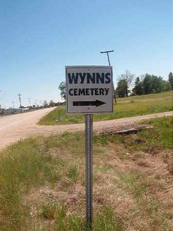 *WYNNS, CEMETERY - Miller County, Arkansas | CEMETERY *WYNNS - Arkansas Gravestone Photos