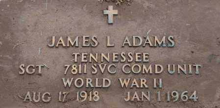 ADAMS  (VETERAN WWII), JAMES  L - Mississippi County, Arkansas | JAMES  L ADAMS  (VETERAN WWII) - Arkansas Gravestone Photos