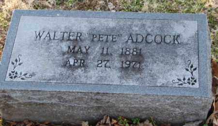 "ADCOCK, WALTER ""PETE"" - Mississippi County, Arkansas 