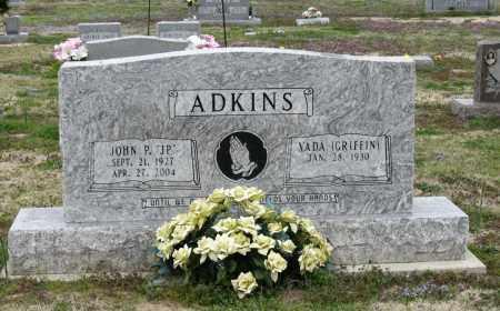 ADKINS, JOHN P - Mississippi County, Arkansas | JOHN P ADKINS - Arkansas Gravestone Photos