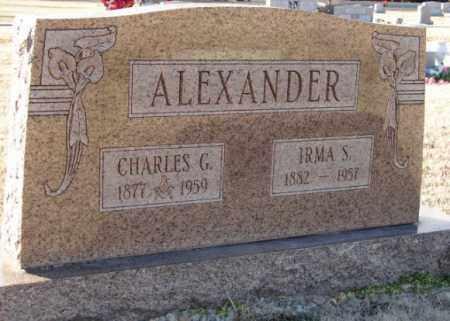 ALEXANDER, IRMA S. - Mississippi County, Arkansas | IRMA S. ALEXANDER - Arkansas Gravestone Photos