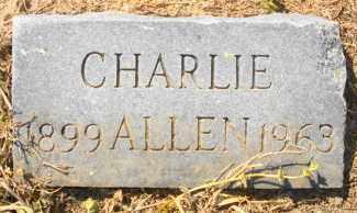 ALLEN, CHARLIE - Mississippi County, Arkansas | CHARLIE ALLEN - Arkansas Gravestone Photos