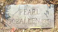 ALLEN, PEARL - Mississippi County, Arkansas | PEARL ALLEN - Arkansas Gravestone Photos