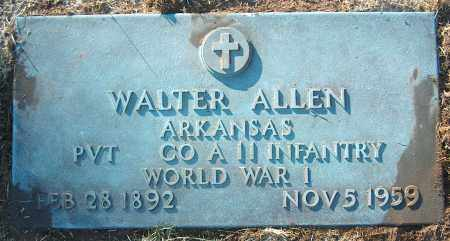 ALLEN (VETERAN WWI), WALTER - Mississippi County, Arkansas | WALTER ALLEN (VETERAN WWI) - Arkansas Gravestone Photos