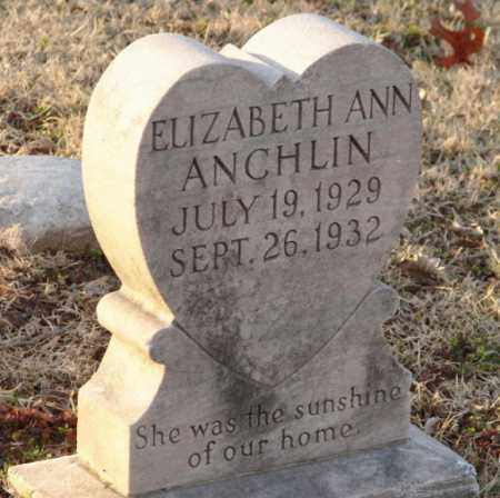 ANCHLIN, ELIZABETH ANN - Mississippi County, Arkansas | ELIZABETH ANN ANCHLIN - Arkansas Gravestone Photos