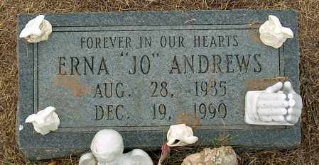ANDREWS, ERNA - Mississippi County, Arkansas | ERNA ANDREWS - Arkansas Gravestone Photos