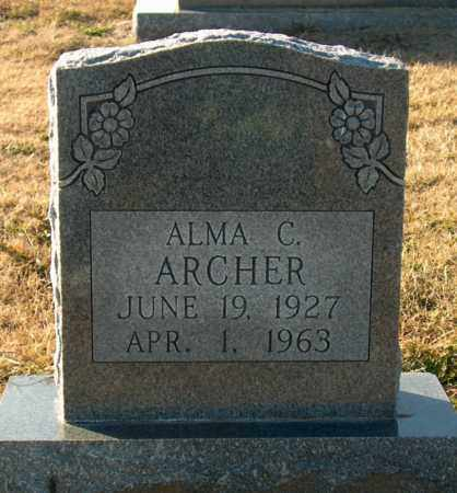 ARCHER, ALMA C - Mississippi County, Arkansas | ALMA C ARCHER - Arkansas Gravestone Photos