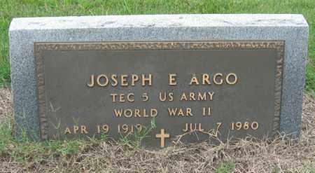 ARGO (VETERAN WWII), JOSEPH E - Mississippi County, Arkansas | JOSEPH E ARGO (VETERAN WWII) - Arkansas Gravestone Photos