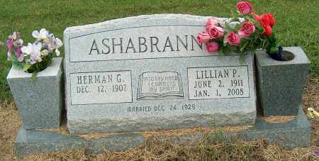 ASHABRANNER, LILLIAN P - Mississippi County, Arkansas | LILLIAN P ASHABRANNER - Arkansas Gravestone Photos