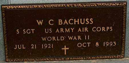 BACHUSS (VETERAN WWII), W C - Mississippi County, Arkansas | W C BACHUSS (VETERAN WWII) - Arkansas Gravestone Photos