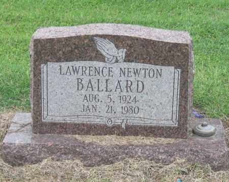 BALLARD, LAWRENCE NEWTON - Mississippi County, Arkansas | LAWRENCE NEWTON BALLARD - Arkansas Gravestone Photos