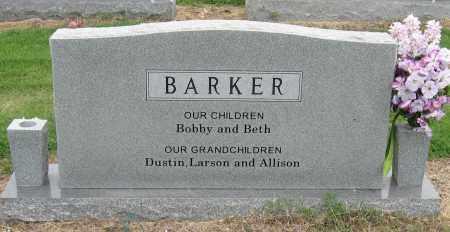 BARKER, BOBBY ODELL - Mississippi County, Arkansas | BOBBY ODELL BARKER - Arkansas Gravestone Photos