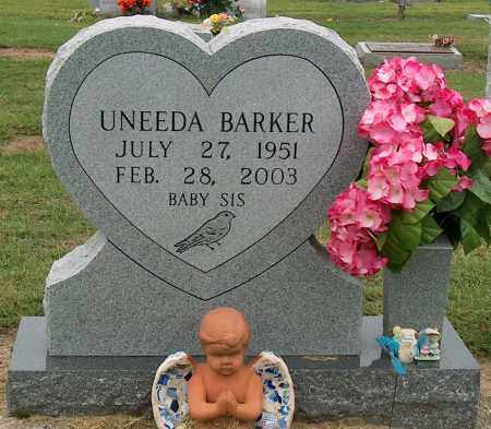 BARKER, UNEEDA - Mississippi County, Arkansas | UNEEDA BARKER - Arkansas Gravestone Photos