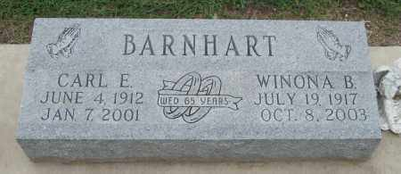 BARNHART, CARL E - Mississippi County, Arkansas | CARL E BARNHART - Arkansas Gravestone Photos