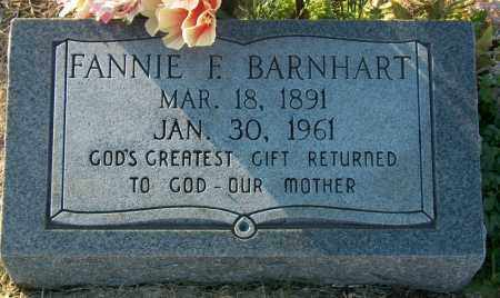 BARNHART, FANNIE F - Mississippi County, Arkansas | FANNIE F BARNHART - Arkansas Gravestone Photos
