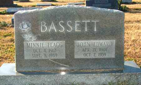 FLAGG BASSETT, MINNIE - Mississippi County, Arkansas | MINNIE FLAGG BASSETT - Arkansas Gravestone Photos