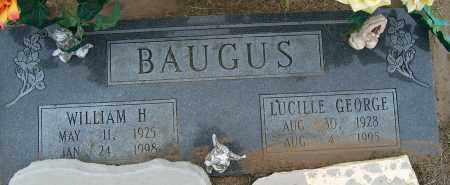 BAUGUS, LUCILLE GEORGE - Mississippi County, Arkansas | LUCILLE GEORGE BAUGUS - Arkansas Gravestone Photos