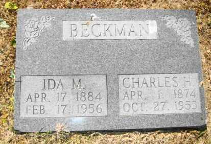 BECKMAN, CHARLES H - Mississippi County, Arkansas | CHARLES H BECKMAN - Arkansas Gravestone Photos