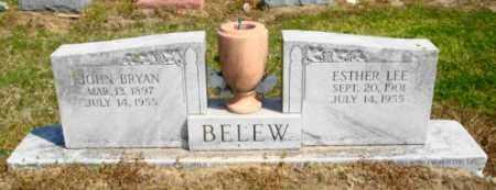 BELEW, JOHN BRYAN - Mississippi County, Arkansas | JOHN BRYAN BELEW - Arkansas Gravestone Photos