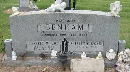 BENHAM, CHARLES M JOE - Mississippi County, Arkansas | CHARLES M JOE BENHAM - Arkansas Gravestone Photos
