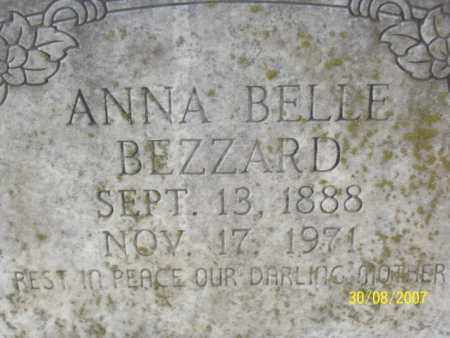 HALL BEZZARD, ANNA BELLE - Mississippi County, Arkansas | ANNA BELLE HALL BEZZARD - Arkansas Gravestone Photos