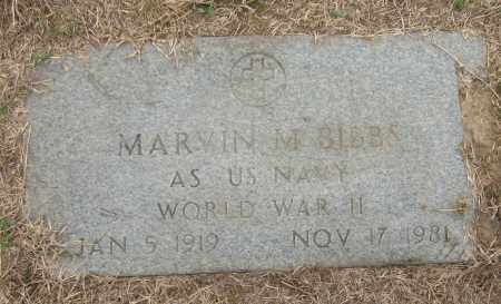 BIBBS (VETERAN WWII), MARVIN M - Mississippi County, Arkansas | MARVIN M BIBBS (VETERAN WWII) - Arkansas Gravestone Photos