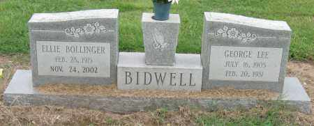 BIDWELL, GEORGE LEE - Mississippi County, Arkansas | GEORGE LEE BIDWELL - Arkansas Gravestone Photos