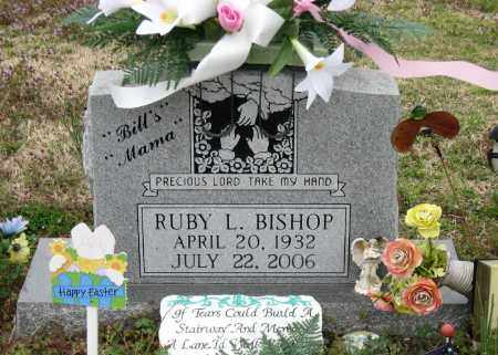 BISHOP, RUBY L - Mississippi County, Arkansas | RUBY L BISHOP - Arkansas Gravestone Photos