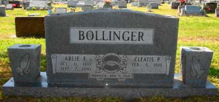 BOLLINGER, ARLIE F - Mississippi County, Arkansas | ARLIE F BOLLINGER - Arkansas Gravestone Photos