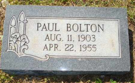 BOLTON, PAUL - Mississippi County, Arkansas | PAUL BOLTON - Arkansas Gravestone Photos