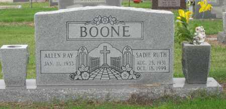 BOONE, SADIE RUTH - Mississippi County, Arkansas | SADIE RUTH BOONE - Arkansas Gravestone Photos