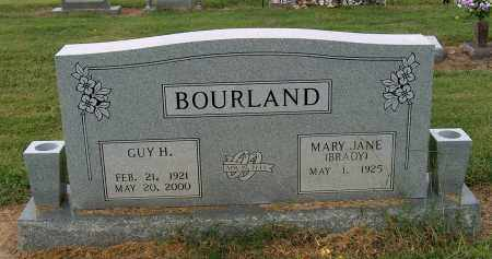 BOURLAND, GUY H - Mississippi County, Arkansas | GUY H BOURLAND - Arkansas Gravestone Photos