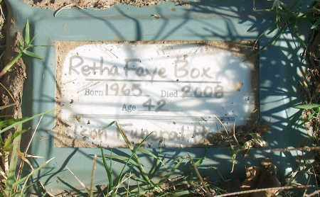 BOX, RETHA FAYE - Mississippi County, Arkansas | RETHA FAYE BOX - Arkansas Gravestone Photos