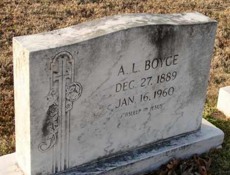 BOYCE, A. L. - Mississippi County, Arkansas | A. L. BOYCE - Arkansas Gravestone Photos