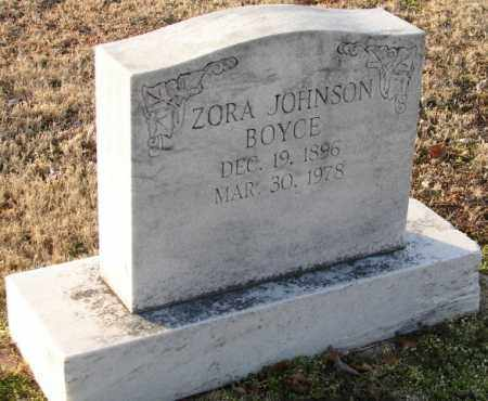 BOYCE, ZORA - Mississippi County, Arkansas | ZORA BOYCE - Arkansas Gravestone Photos