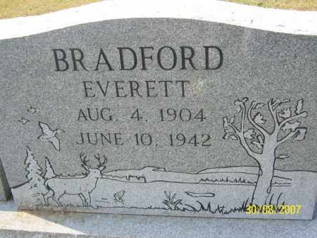 BRADFORD, EVERETT - Mississippi County, Arkansas | EVERETT BRADFORD - Arkansas Gravestone Photos
