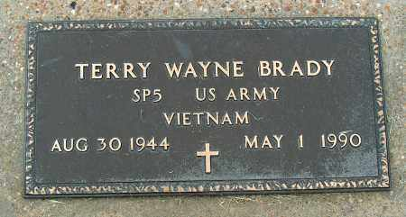 BRADY(VETERAN VIET), TERRY WAYNE - Mississippi County, Arkansas | TERRY WAYNE BRADY(VETERAN VIET) - Arkansas Gravestone Photos