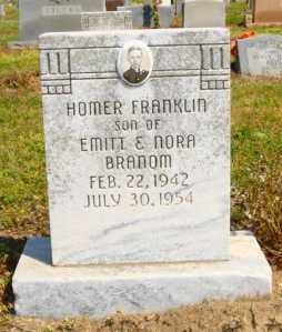 BRANOM, HOMER FRANKLIN - Mississippi County, Arkansas | HOMER FRANKLIN BRANOM - Arkansas Gravestone Photos