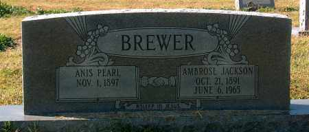 BREWER, AMBROSE JACKSON - Mississippi County, Arkansas | AMBROSE JACKSON BREWER - Arkansas Gravestone Photos