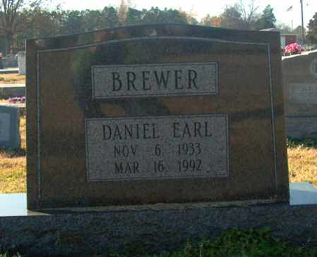 BREWER, DANIEL EARL - Mississippi County, Arkansas | DANIEL EARL BREWER - Arkansas Gravestone Photos
