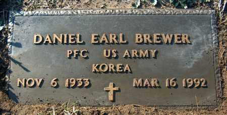 BREWER (VETERAN KOR), DANIEL EARL - Mississippi County, Arkansas | DANIEL EARL BREWER (VETERAN KOR) - Arkansas Gravestone Photos