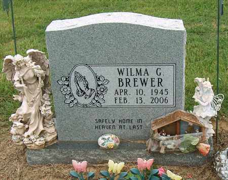 BREWER, WILMA G. - Mississippi County, Arkansas | WILMA G. BREWER - Arkansas Gravestone Photos