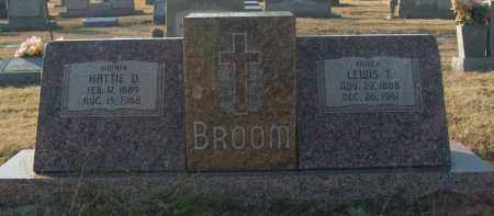BROOM, HATTIE D - Mississippi County, Arkansas | HATTIE D BROOM - Arkansas Gravestone Photos