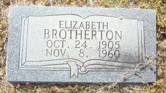 BROTHERTON, ELIZABETH - Mississippi County, Arkansas | ELIZABETH BROTHERTON - Arkansas Gravestone Photos